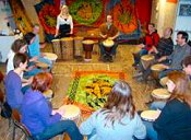 Djembe workshop teamuitje